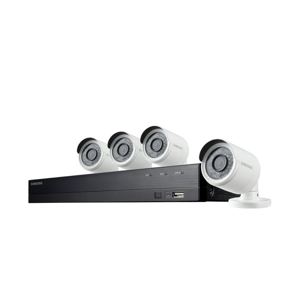 samsung 8 channel full hd video security system with 4x. Black Bedroom Furniture Sets. Home Design Ideas