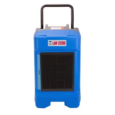 VG-2200 225 Pint Commercial LGR Dehumidifier for Water Damage Restoration Equipment Mold Remediation, Blue