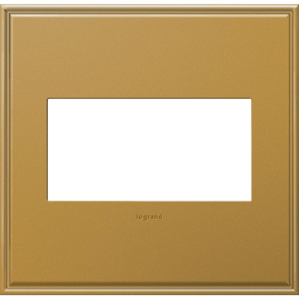 Legrand adorne 2-Gang 2 Module Wall Plate - Antique Bronze with ...