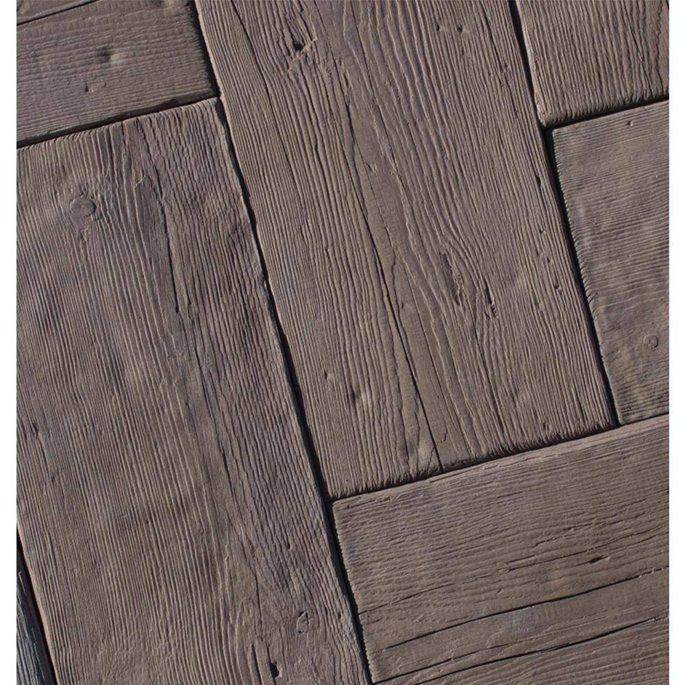 Silver Creek Stoneworks Barn Plank 35 in. x 9.75 in. x 2 in. Espresso Concrete Paver (20 Pieces/47.40 Sq.ft./Pallet)