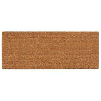 A1HC First Impression PVC Tufted Plain 36 in. x 72 in. Extra Large Size Door Mat Coir with More Clean Area