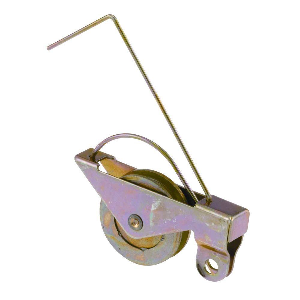 1 in. Sliding Screen Door Roller with Steel Tension Spring