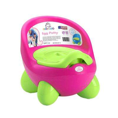 Toddler's Potty Training Egg Potty in Pink