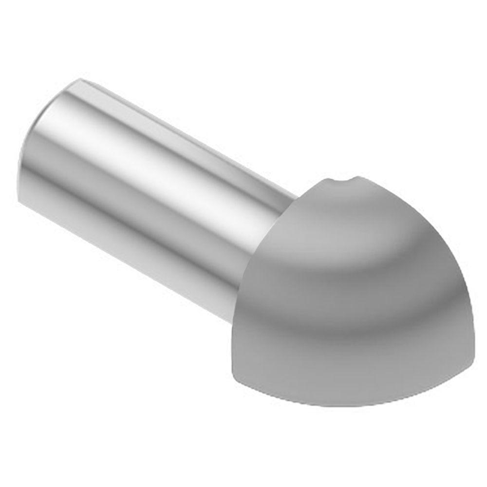Rondec Classic Grey Color-Coated Aluminum 3/8 in. x 1 in. Metal