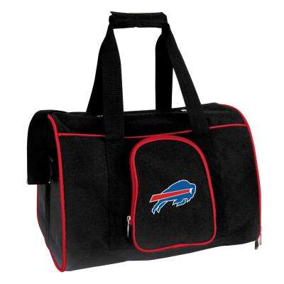 NFL Buffalo Bills Pet Carrier Premium 16 in. Bag in Red
