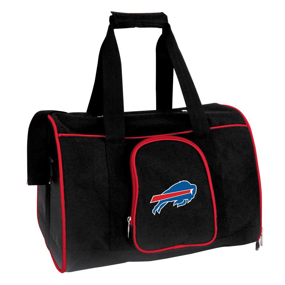 NFL Buffalo Bills Pet Carrier Premium 16 in. Bag in Red