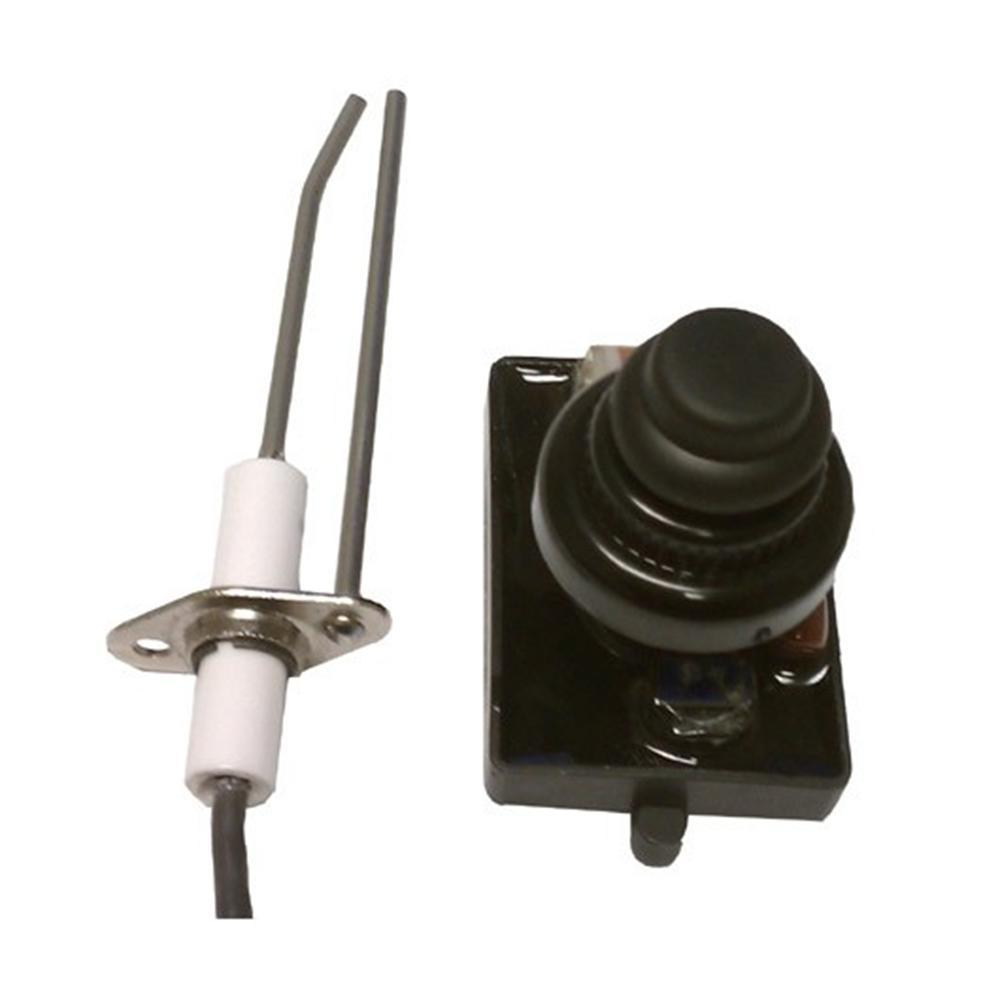 American Fire Glass Push Button Spark Igniter