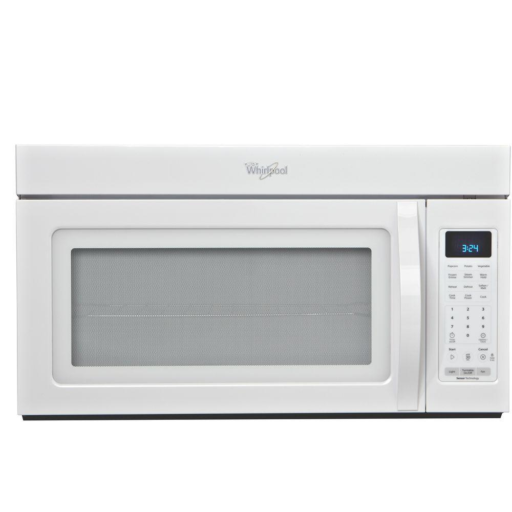 Whirlpool 1.7 cu. ft. Over the Range Microwave in White with Sensor Cooking-DISCONTINUED