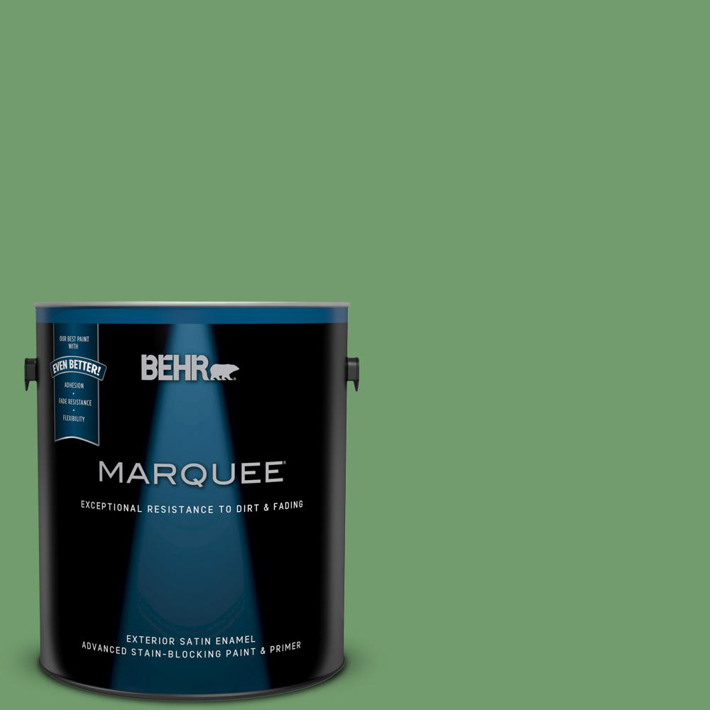450d 6 Shire Green Satin Enamel Exterior Paint