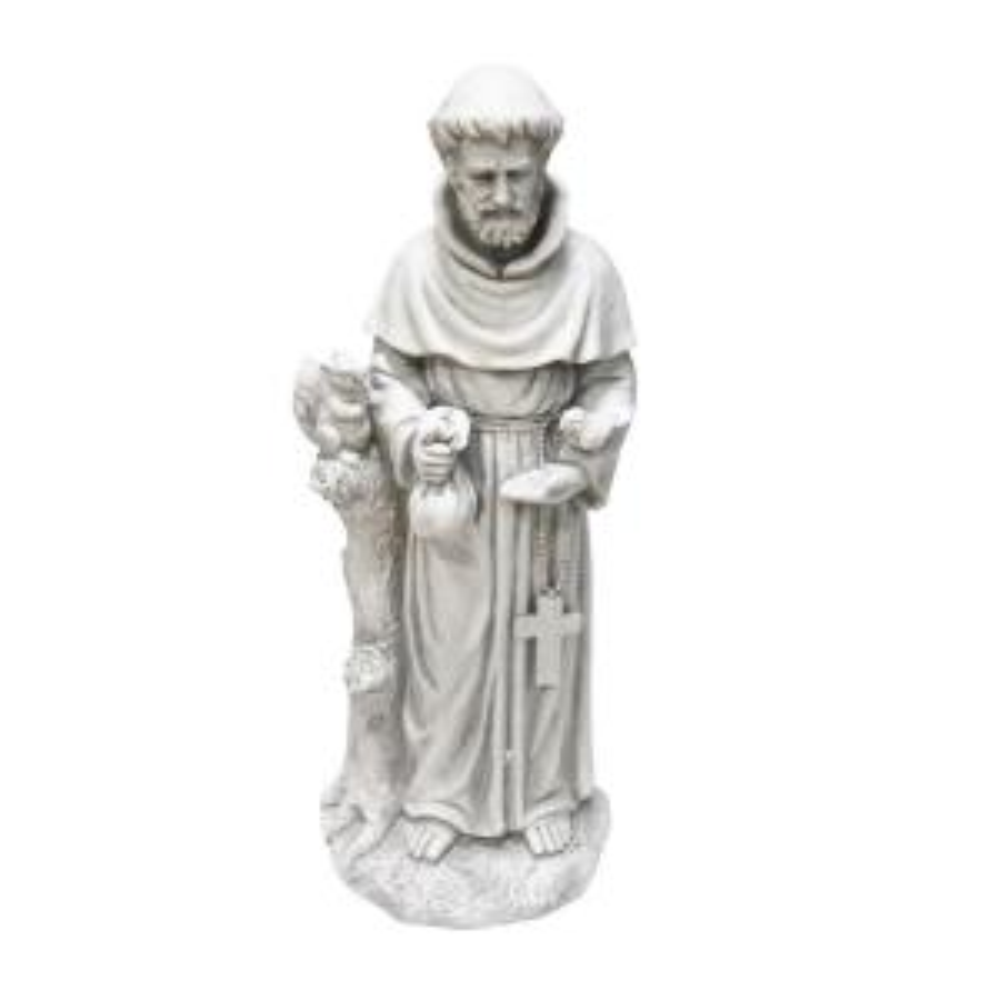 Alpine 31 inch St. Francis Statue by Alpine