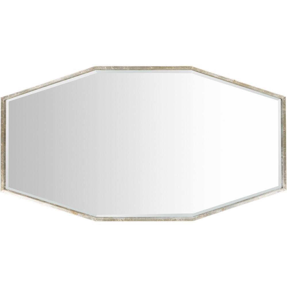 Adralie 30 in. x 55 in. Modern Framed Mirror