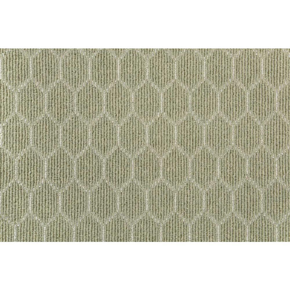 Entanglement - Color Meadow/Ivory Loop 12 ft. Carpet