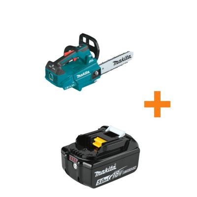 18V X2 (36V) LXT Lithium-Ion Brushless Cordless 16 in. Top Handle Chain Saw, Tool Only with Bonus 18V LXT 5.0Ah Battery