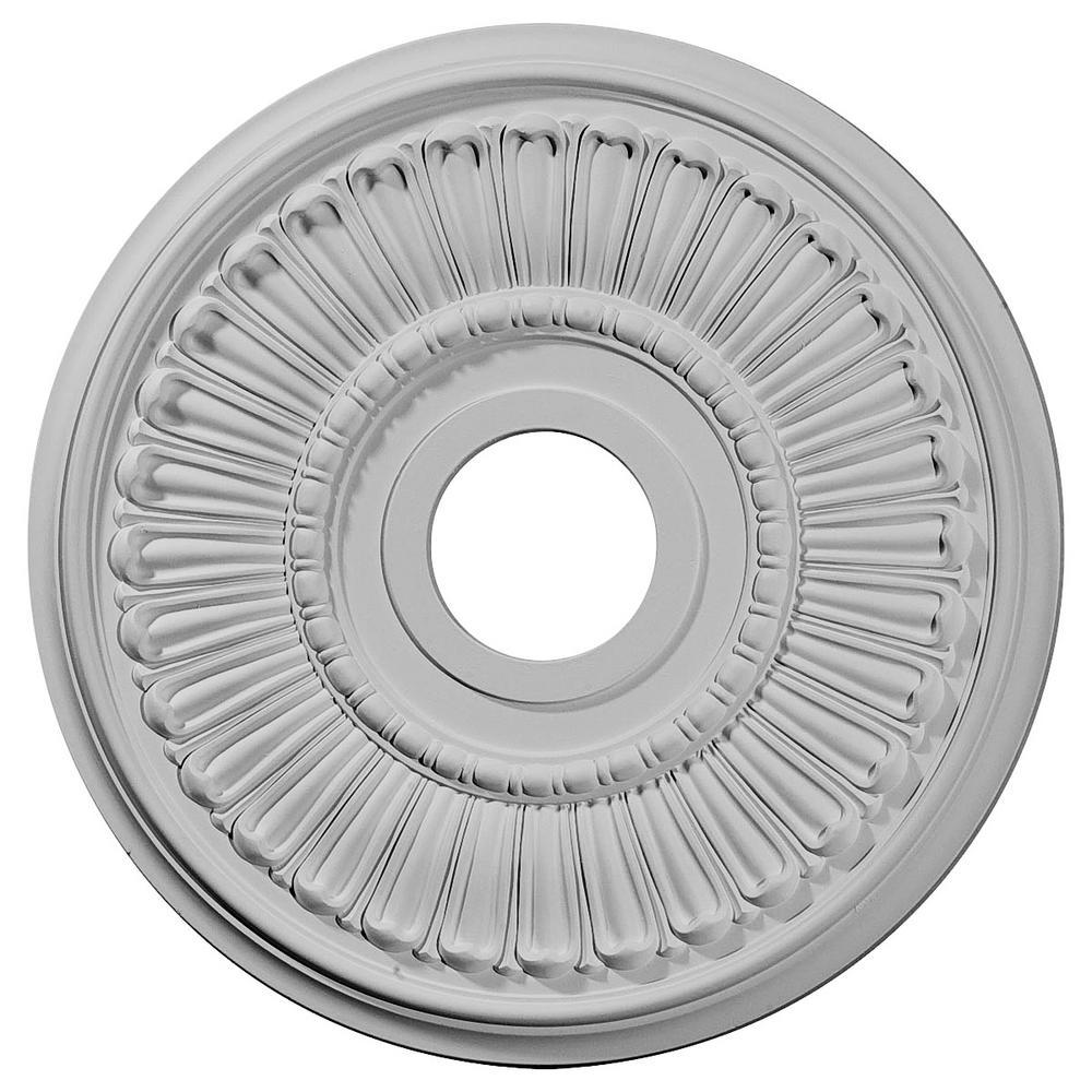 16 in. OD x 3-5/8 in. ID x 3/4 in. P (Fits Canopies up to 6-3/8 in.) Melonie Ceiling Medallion