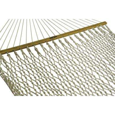 13 ft. Presidential Cotton Patio Rope Hammock in White