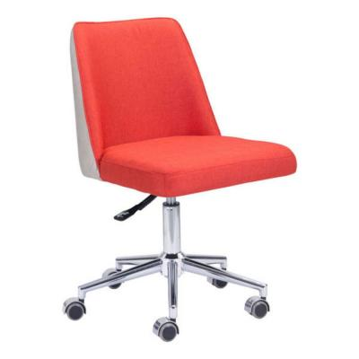 Julia Orange and Beige Polyblend Office Chair