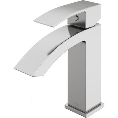 Satro Single Hole Single-Handle Bathroom Faucet in Brushed Nickel