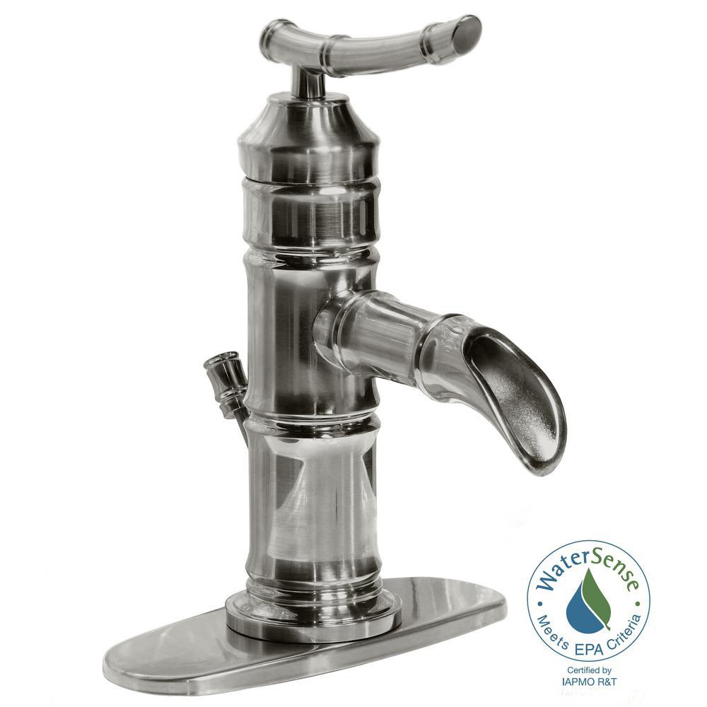 Delta Everly 4 In Centerset Single Handle Bathroom Faucet