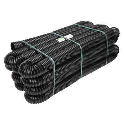 Pro 4 in. x 100 ft. HDPE Solid Drain Pipe