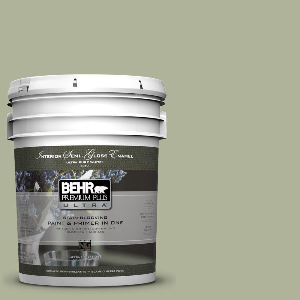 BEHR Premium Plus Ultra Home Decorators Collection 5-gal. #HDC-CT-28 Cottage Hill Semi-Gloss Enamel Interior Paint