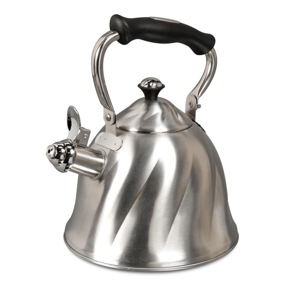 Mr coffee alberton 9 cup stainless steel tea kettle - Cup stainless steel teapot ...