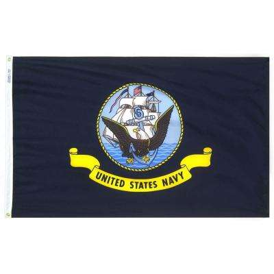 3 ft. x 5 ft. U.S. Navy Armed Forces Flag