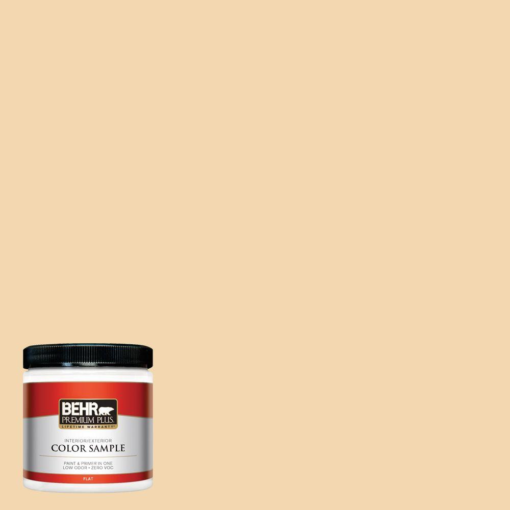 8 oz. #M270-3 Cream Custard Interior/Exterior Paint Sample