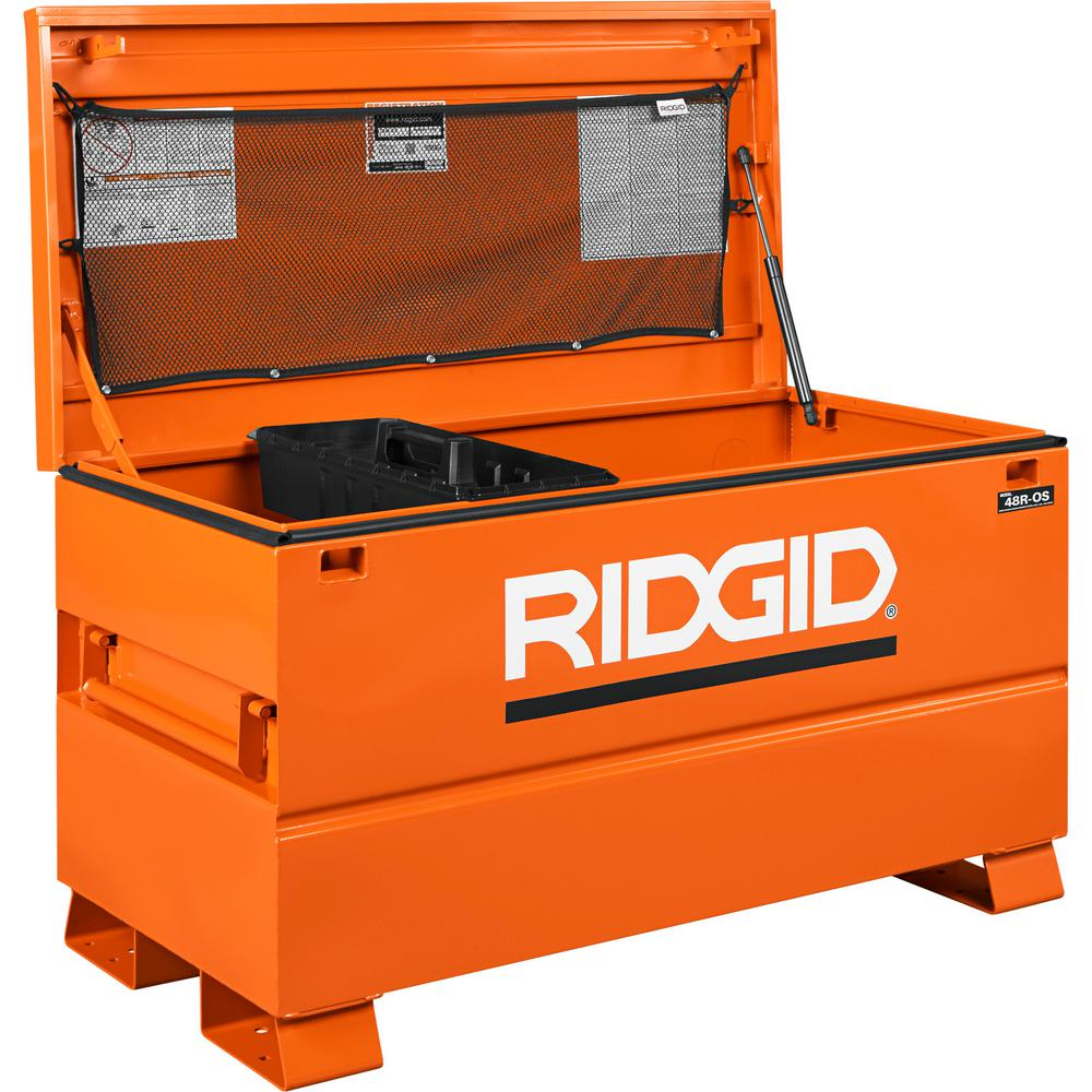 Big Tool Box >> Ridgid 48 In X 24 In Universal Storage Chest