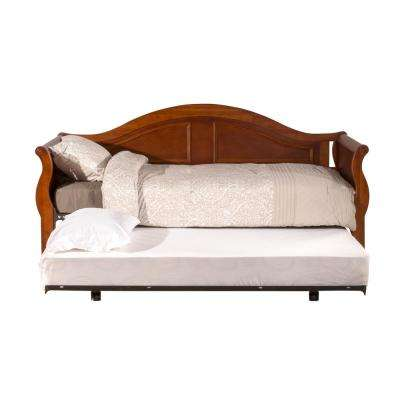 Bedford Cherry Day Bed with Suspension Deck and Roll-Out Trundle