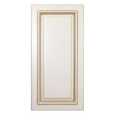 Holden Assembled 24 x 34.5 x .75 in. Holden Matching Base End Panel in Bronze Glaze