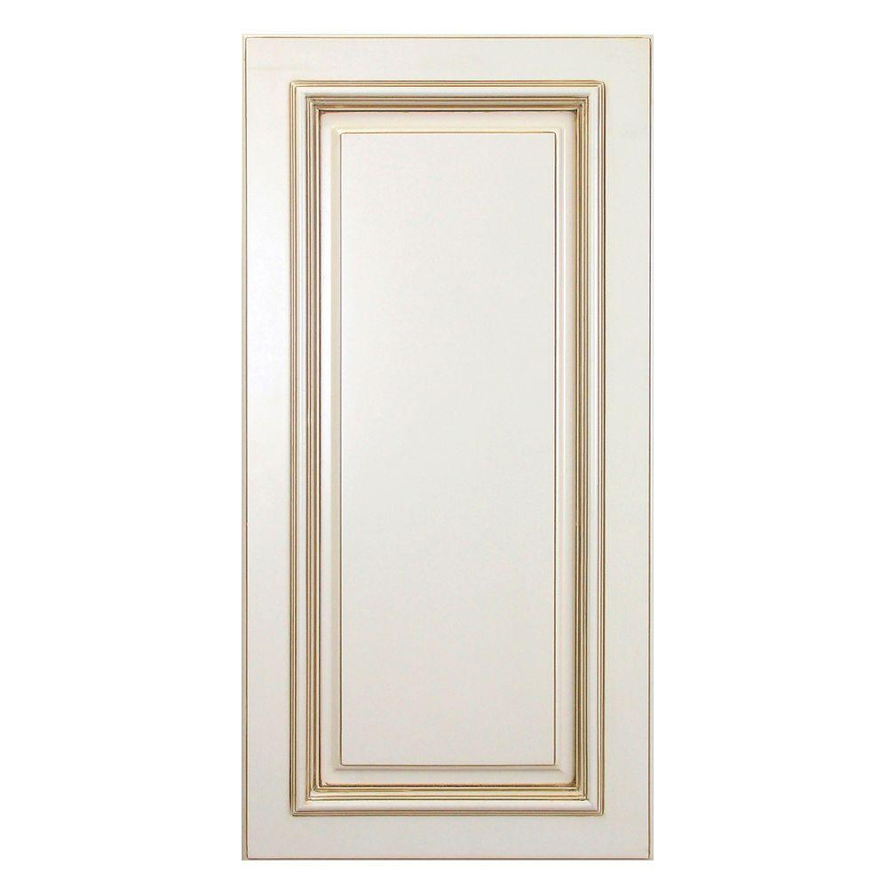 Home Decorators Collection Holden Assembled 12 x 30 x .75 in. Holden Matching Wall End Panel in Bronze Glaze