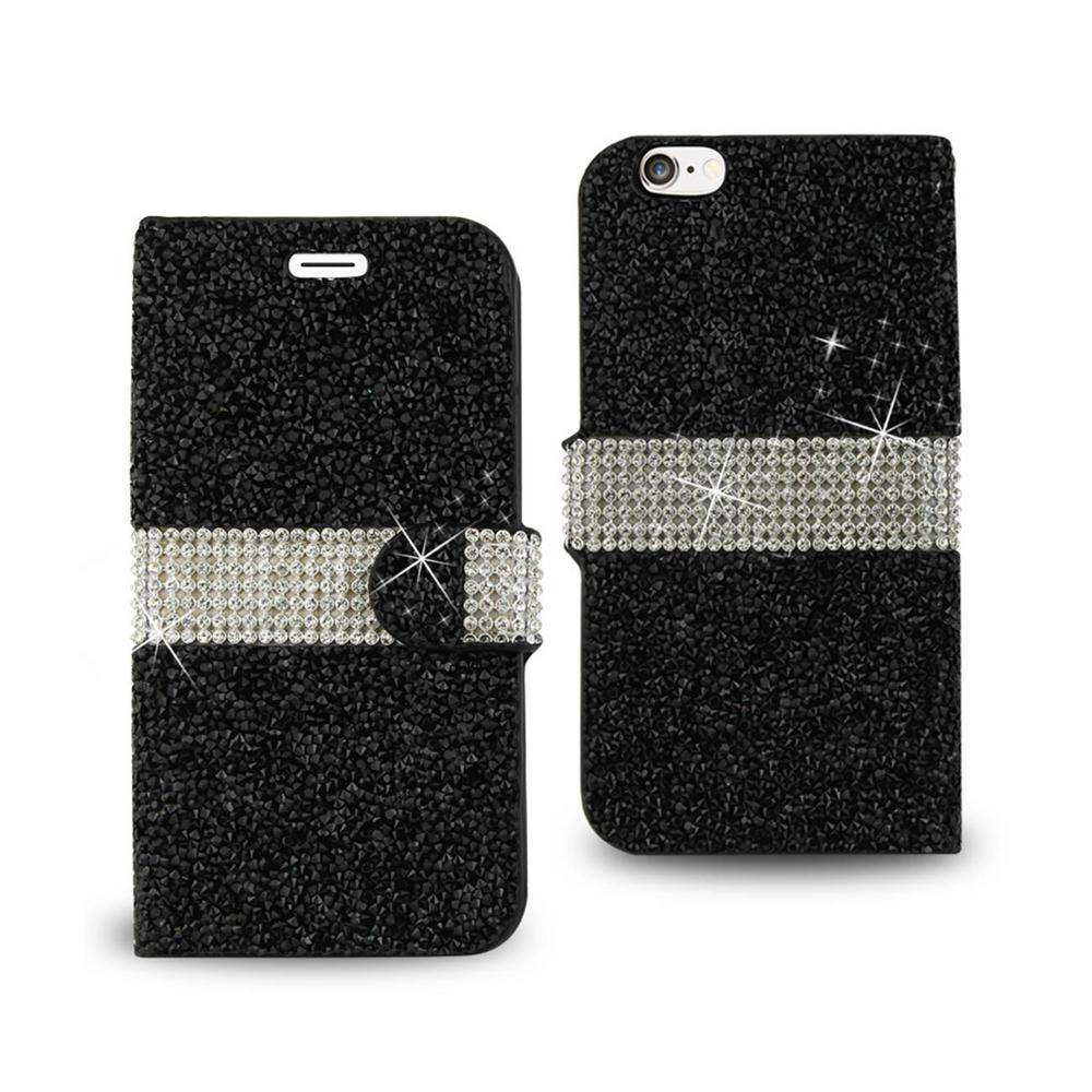 iPhone 6/6S Rhinestone Case in Black
