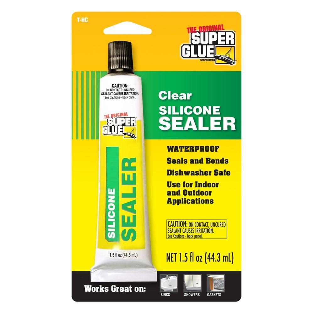 Super Glue 1 5 Fl Oz Silicone Sealer 12 Pack T Hc