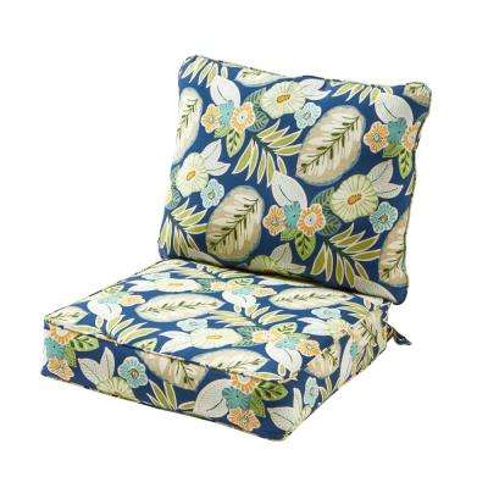 Marlow Fl 2 Piece Deep Seating Outdoor Lounge Chair Cushion Set