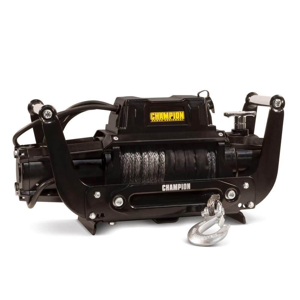 Truck/SUV Synthetic Rope Winch Kit with Hawse Fairlead