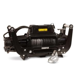 Click here to buy Champion Power Equipment Truck/SUV Synthetic Rope Winch Kit with Hawse Fairlead by Champion Power Equipment.