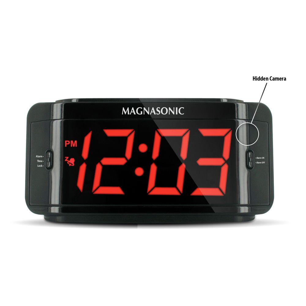 Defender Covert Alarm Clock DVR with Built-in Color Pinhole Spy Camera-DISCONTINUED