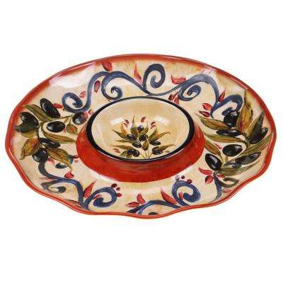The Umbria Collection Chip & Dip Server
