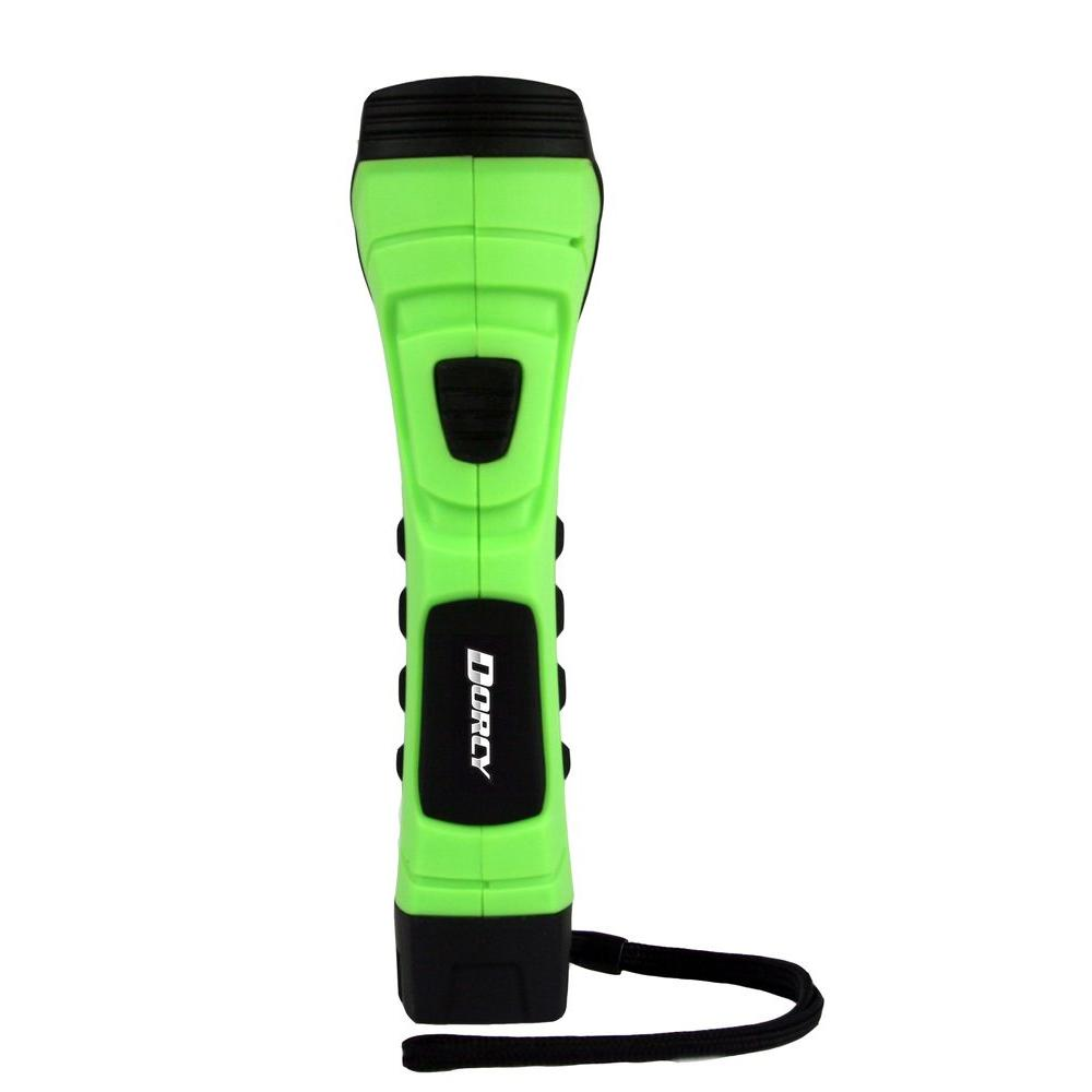 CyberLight Weather Resistant LED Flashlight with Nylon Lanyard and True Spot