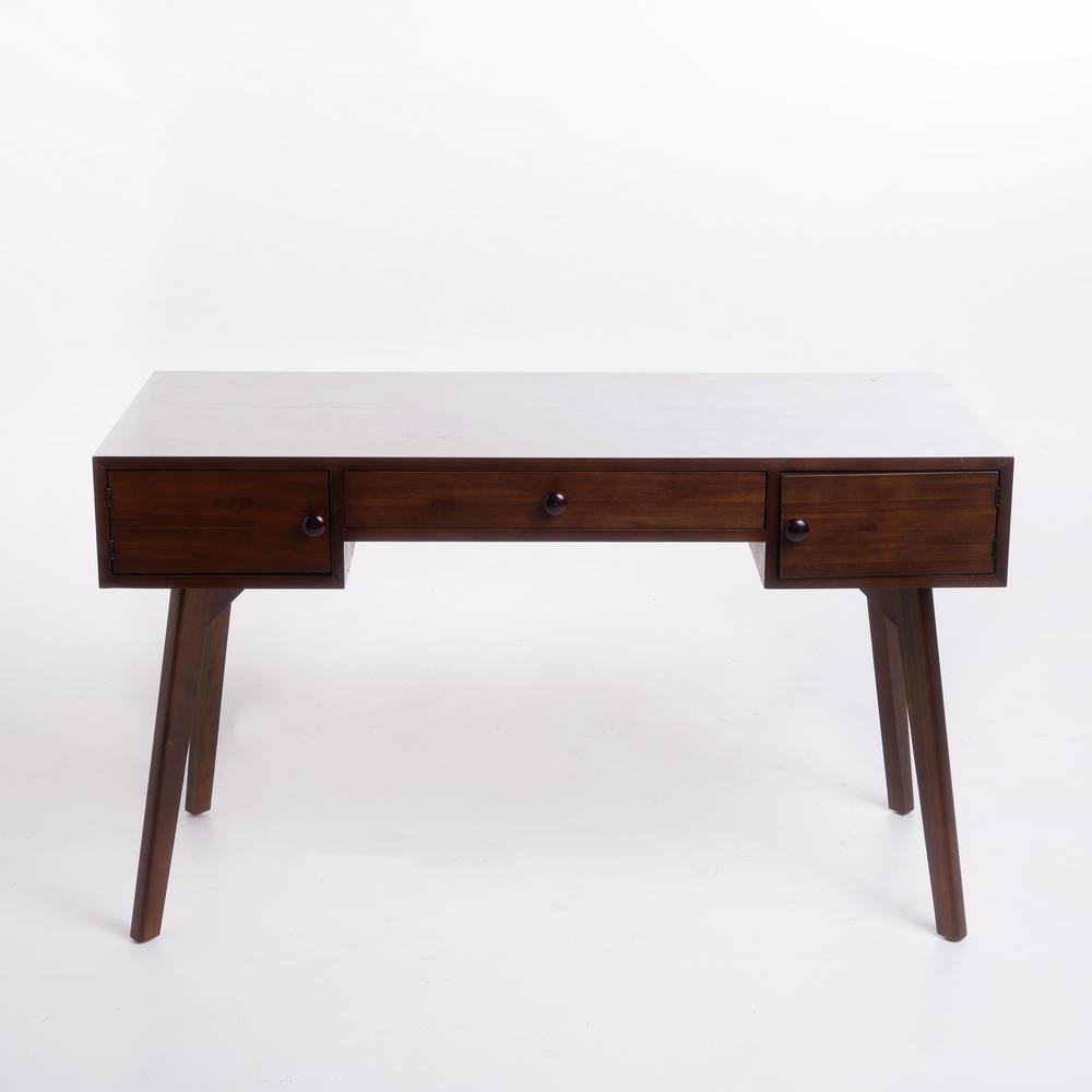 Incredible Noble House Quintus Walnut Brown Acacia Wood Desk With Spiritservingveterans Wood Chair Design Ideas Spiritservingveteransorg
