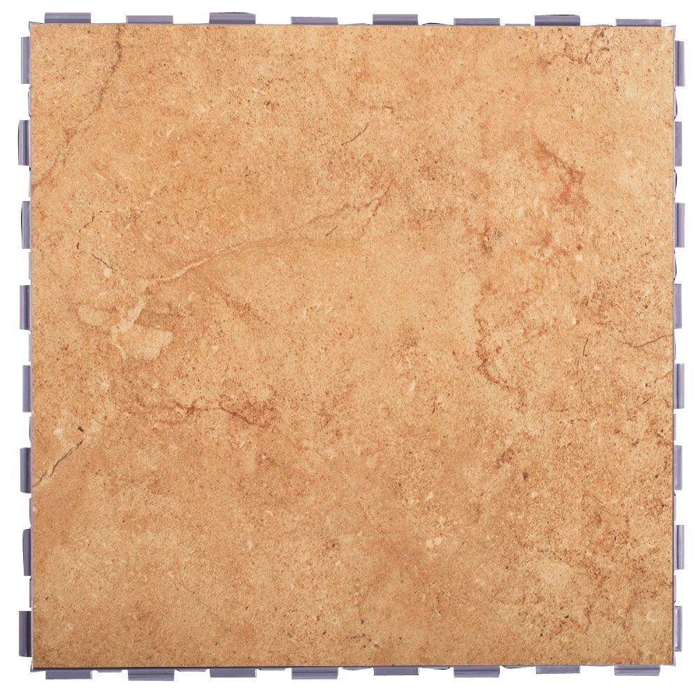 Snapstone Mocha 12 In X Porcelain Floor Tile 5 Sq