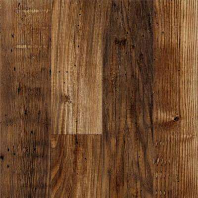 8 in. x 10 in. Laminate Sample in Salem Planked Chestnut with Virtual Design SoftGrain Finish