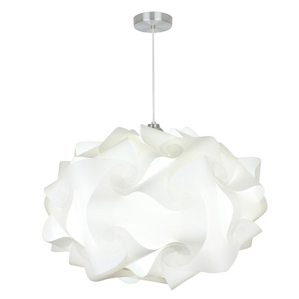new product 91b92 a7fd1 EQLight Cloud 1-Light White Extra Large Pendant Globe