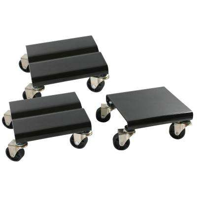 1500 lb. Capacity Steel Snowmobile Dolly Set
