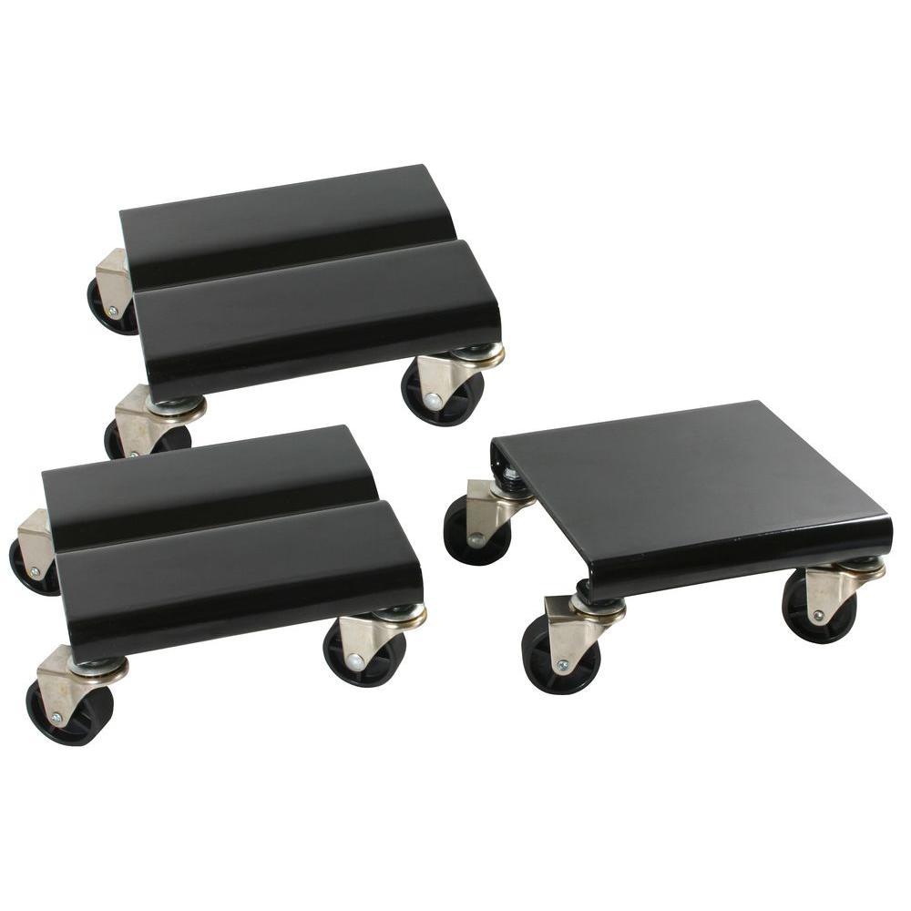 1500 lb. Capacity Steel Snowmobile Dolly Set