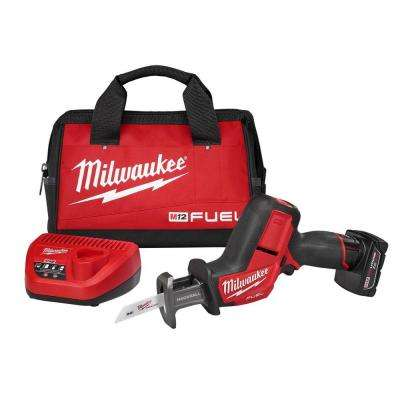 M12 FUEL 12-Volt Lithium-Ion Cordless HACKZALL Reciprocating Saw Kit