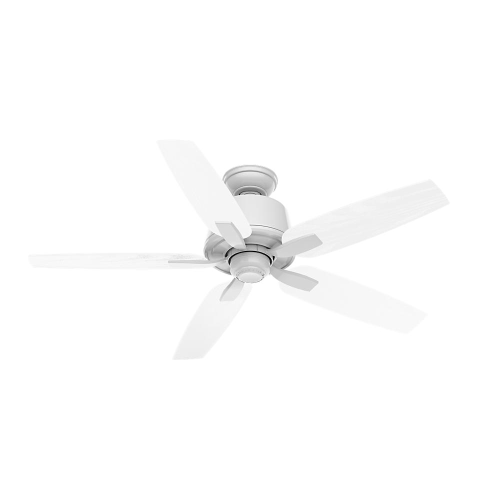 Areto 52 in. Indoor Snow White Ceiling Fan
