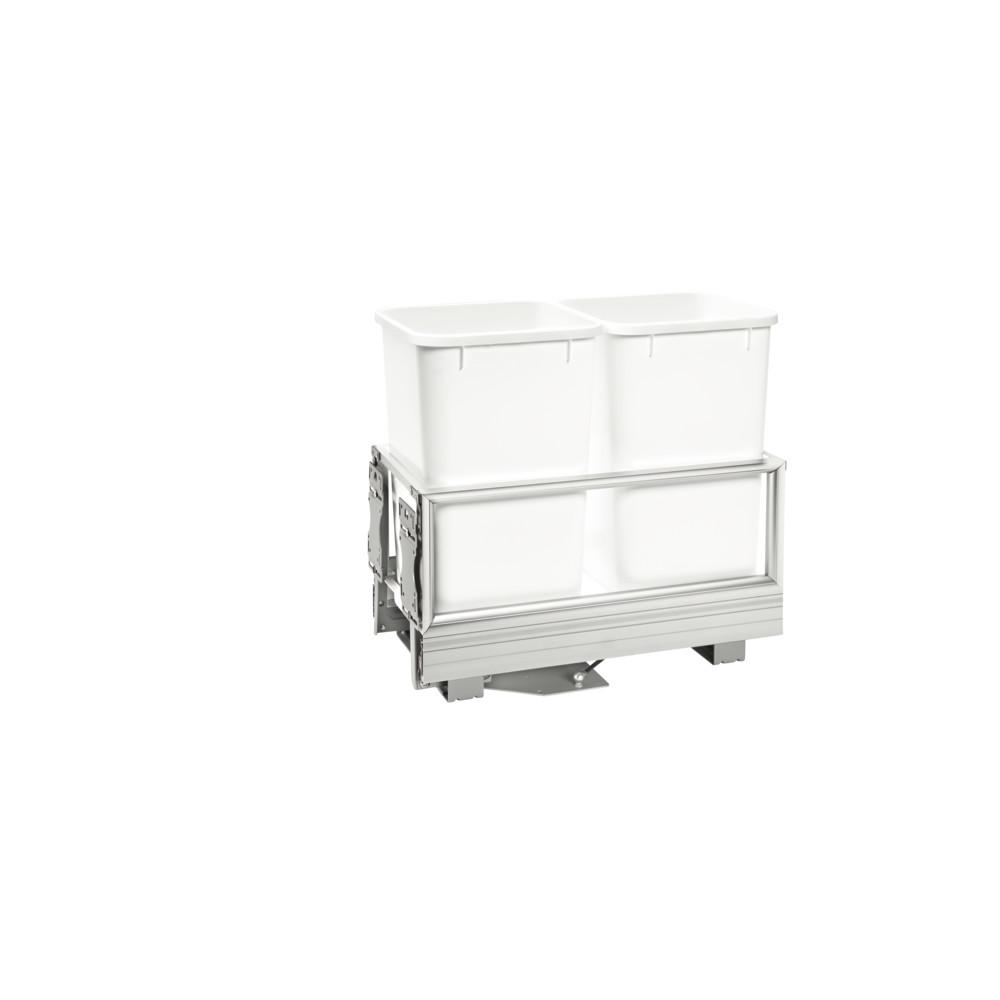 Rev-A-Shelf Double 27 Qt. Pullout Waste Container