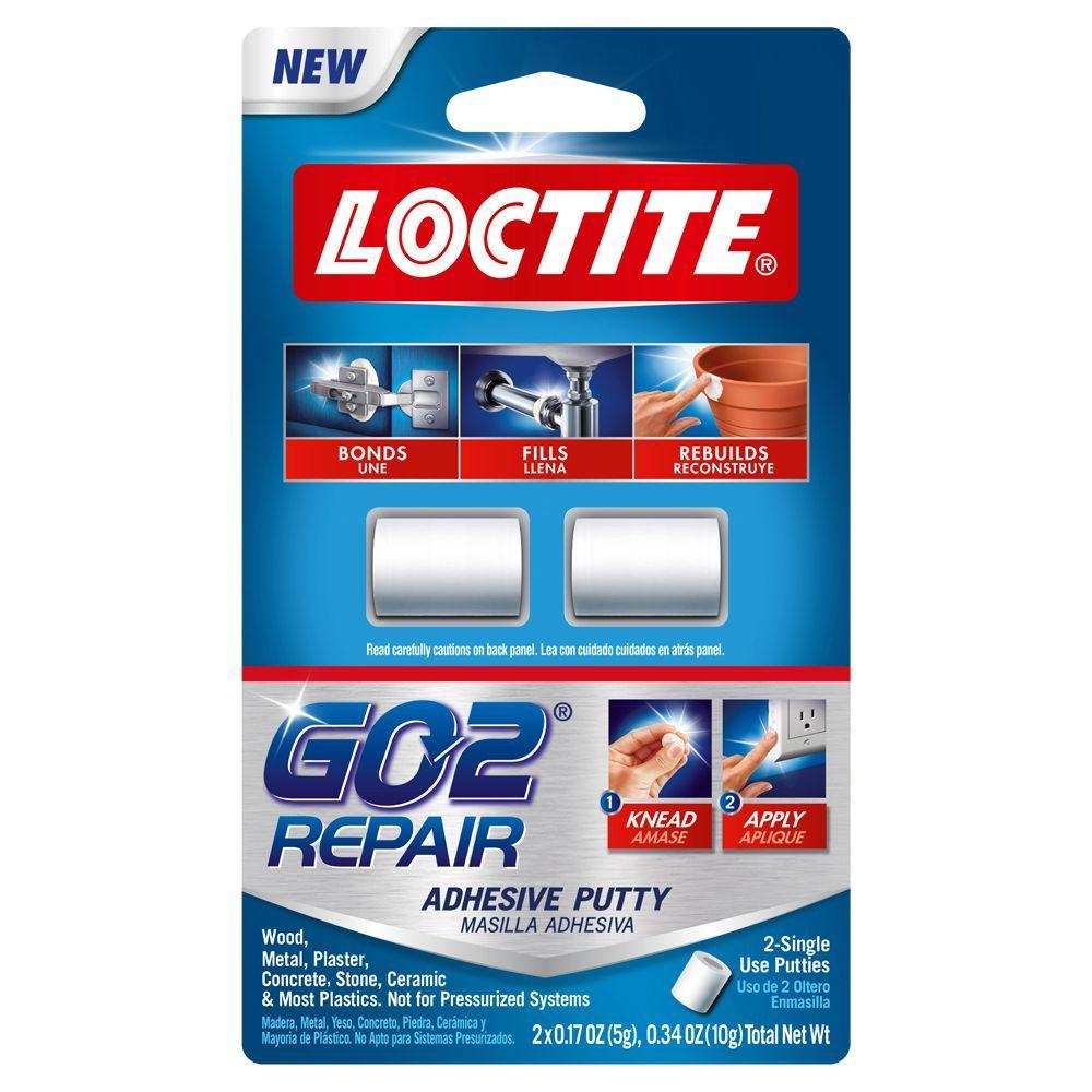 Loctite GO20.34 oz. Repair Putty (2-Pack)