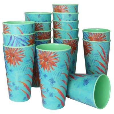 Psycho Tropical 20 oz. Melamine Tumbler (16-Pack)